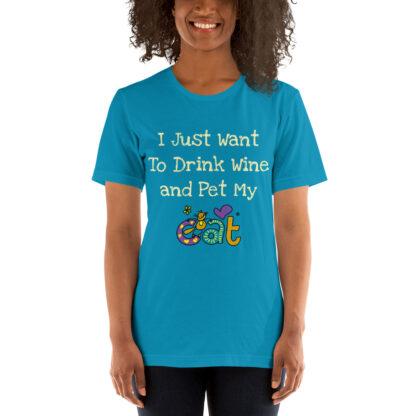 unisex staple t shirt aqua front 60f4c510cedcb