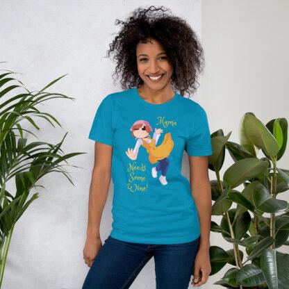 unisex staple t shirt aqua front 60f4d0d0628b9