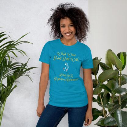 unisex staple t shirt aqua front 60f58e42c8ff3