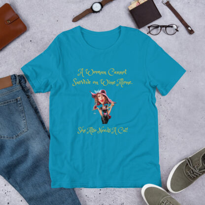 unisex staple t shirt aqua front 60f5f6d24ca14