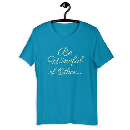 unisex staple t shirt aqua front 60f5f837ea820