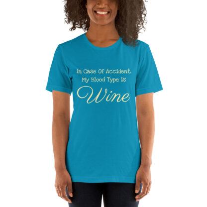 unisex staple t shirt aqua front 60f5f96adfc1e