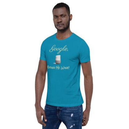 unisex staple t shirt aqua left front 60ecf9406d860