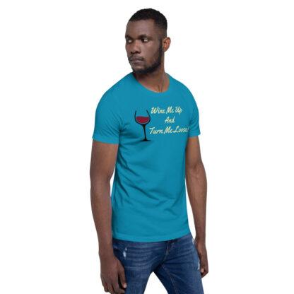 unisex staple t shirt aqua right front 60ef34efe8d73