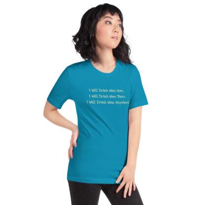 unisex staple t shirt aqua right front 60f4dfcd4f413