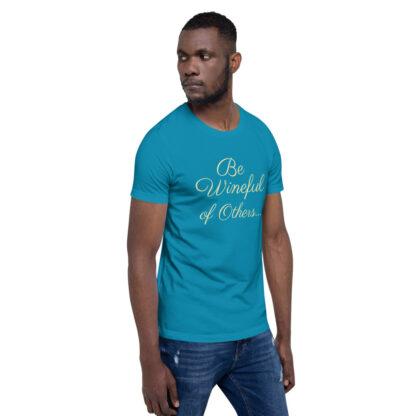 unisex staple t shirt aqua right front 60f5f837ec5f7