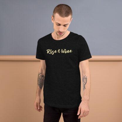 unisex staple t shirt black heather front 60ef773b62138
