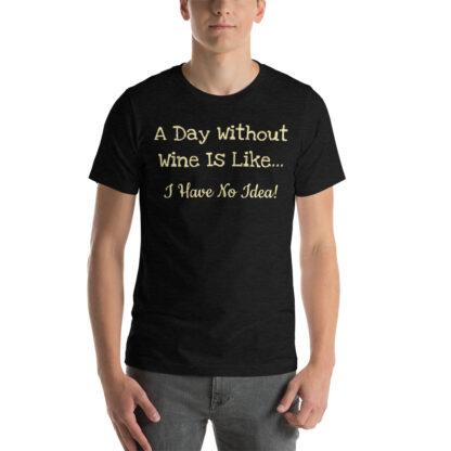 unisex staple t shirt black heather front 60f4c6f2ebf46