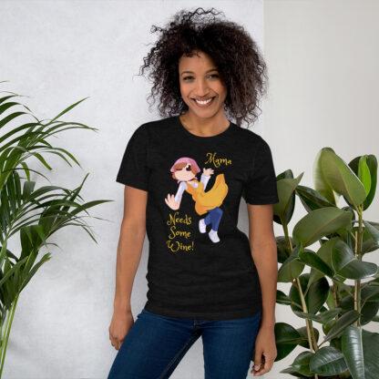unisex staple t shirt black heather front 60f4d0d060f7a