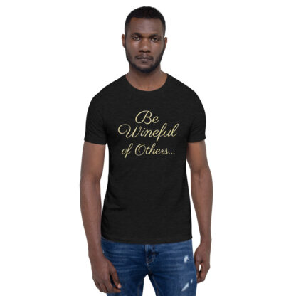 unisex staple t shirt black heather front 60f5f837ead36