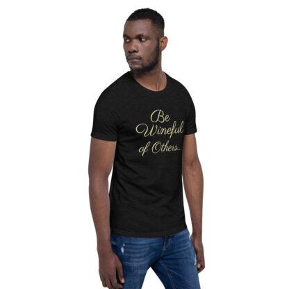 unisex staple t shirt black heather right front 60f5f837eae84