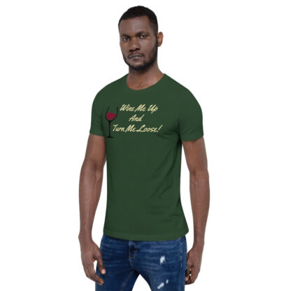 unisex staple t shirt forest left front 60ef34efe5be5