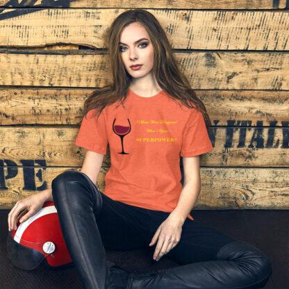 unisex staple t shirt heather orange front 60ec65c0c3ae7
