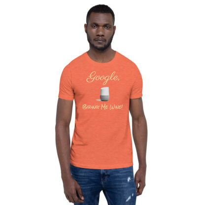 unisex staple t shirt heather orange front 60ecf94069c40