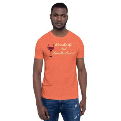 unisex staple t shirt heather orange front 60ef34efe97c0