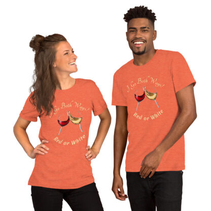unisex staple t shirt heather orange front 60ef38189ce72