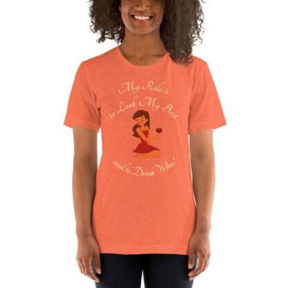 unisex staple t shirt heather orange front 60ef65e66571c