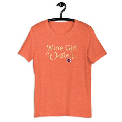 unisex staple t shirt heather orange front 60ef72af15c53