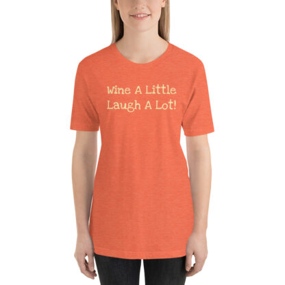 unisex staple t shirt heather orange front 60f219de68b53