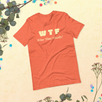 unisex staple t shirt heather orange front 60f21c44268c6