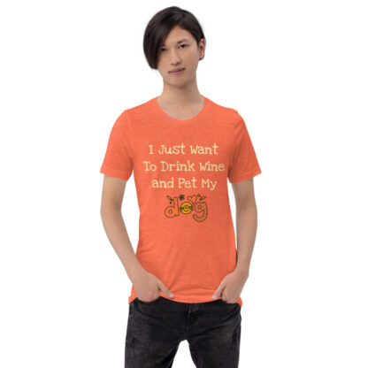 unisex staple t shirt heather orange front 60f4c49fd8066