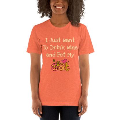 unisex staple t shirt heather orange front 60f4c510cf467
