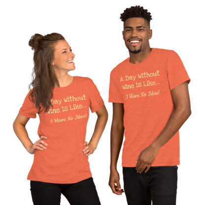 unisex staple t shirt heather orange front 60f4c6f2ed08e