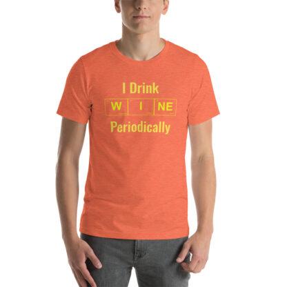 unisex staple t shirt heather orange front 60f4cb2332691