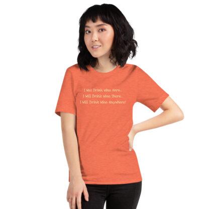 unisex staple t shirt heather orange front 60f4dfcd4fc3b