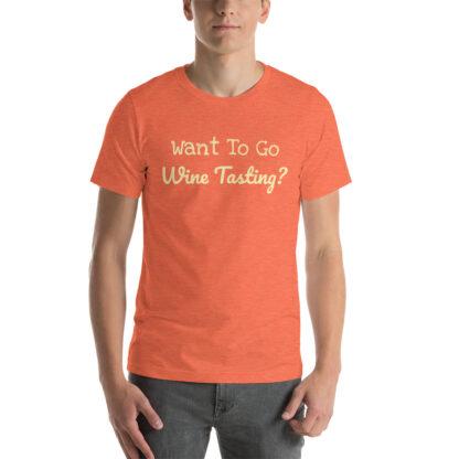 unisex staple t shirt heather orange front 60f58c40bad2f