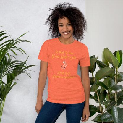 unisex staple t shirt heather orange front 60f58e42c9ae4