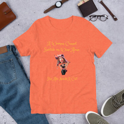 unisex staple t shirt heather orange front 60f5f6d24d4dc