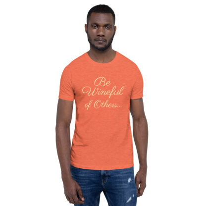 unisex staple t shirt heather orange front 60f5f837ecc39