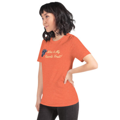 unisex staple t shirt heather orange left front 60ef35ffe8fe2
