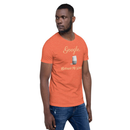 unisex staple t shirt heather orange right front 60ecf9406ef0b