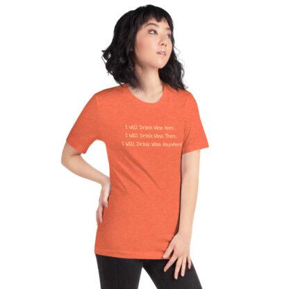 unisex staple t shirt heather orange right front 60f4dfcd50c1b