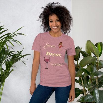 unisex staple t shirt heather orchid front 60ec8fd46ec4c