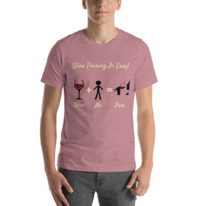 unisex staple t shirt heather orchid front 60ec9833862cd