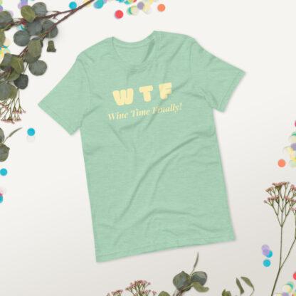unisex staple t shirt heather prism mint front 2 60f21c442cf6c