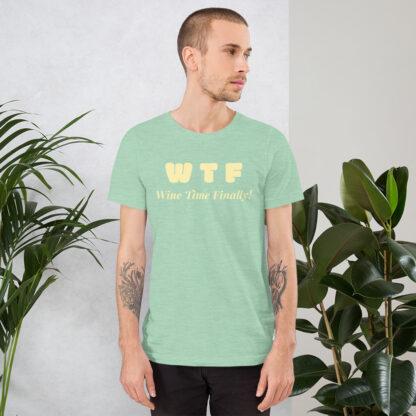 unisex staple t shirt heather prism mint front 60f21c4427276