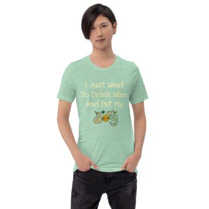 unisex staple t shirt heather prism mint front 60f4c49fd9df3