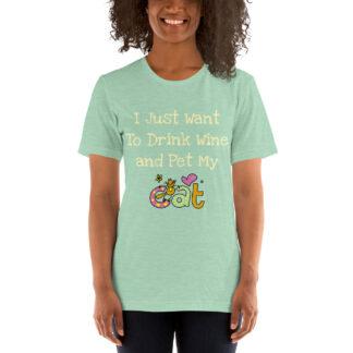unisex staple t shirt heather prism mint front 60f4c510cbd5e