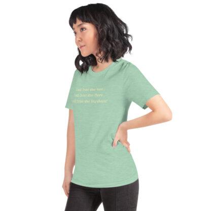 unisex staple t shirt heather prism mint left front 60f4dfcd569e4