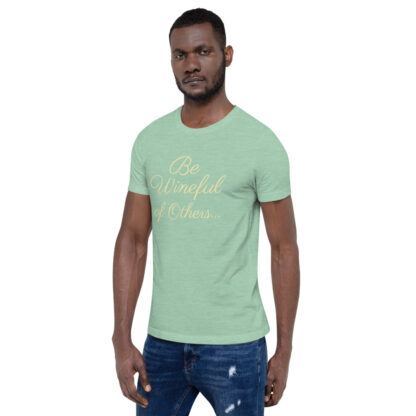 unisex staple t shirt heather prism mint left front 60f5f837f3bfd