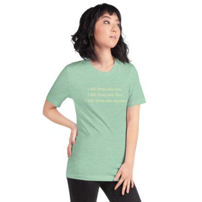 unisex staple t shirt heather prism mint right front 60f4dfcd576e5