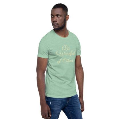 unisex staple t shirt heather prism mint right front 60f5f83800a4d
