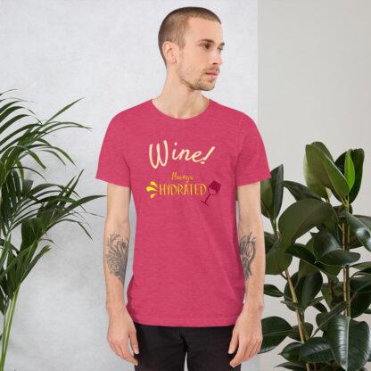 unisex staple t shirt heather raspberry front 60ecb2b319300