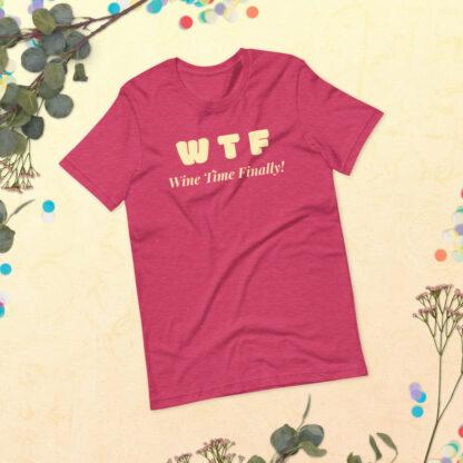 unisex staple t shirt heather raspberry front 60f21c4428231
