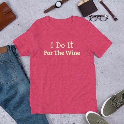 unisex staple t shirt heather raspberry front 60f466b543a8a