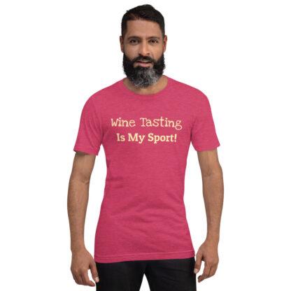 unisex staple t shirt heather raspberry front 60f4c01382098